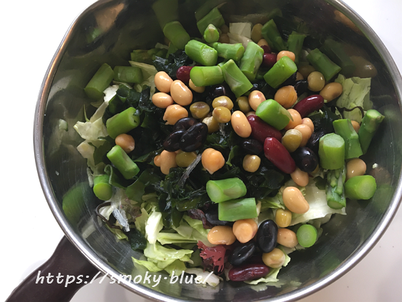ダイエットサラダの作り方