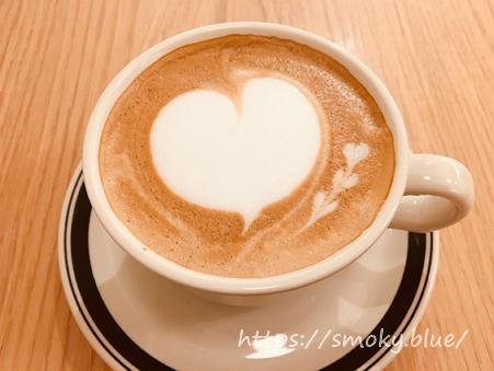 グラムのカフェラテ