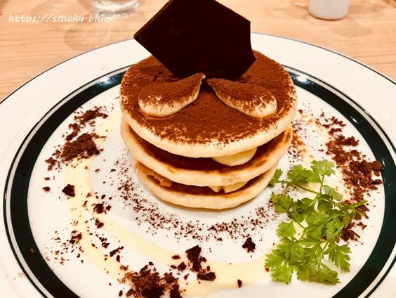 グラムのティラミスパンケーキ