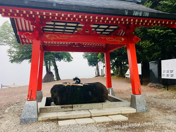 赤城神社の手水舎