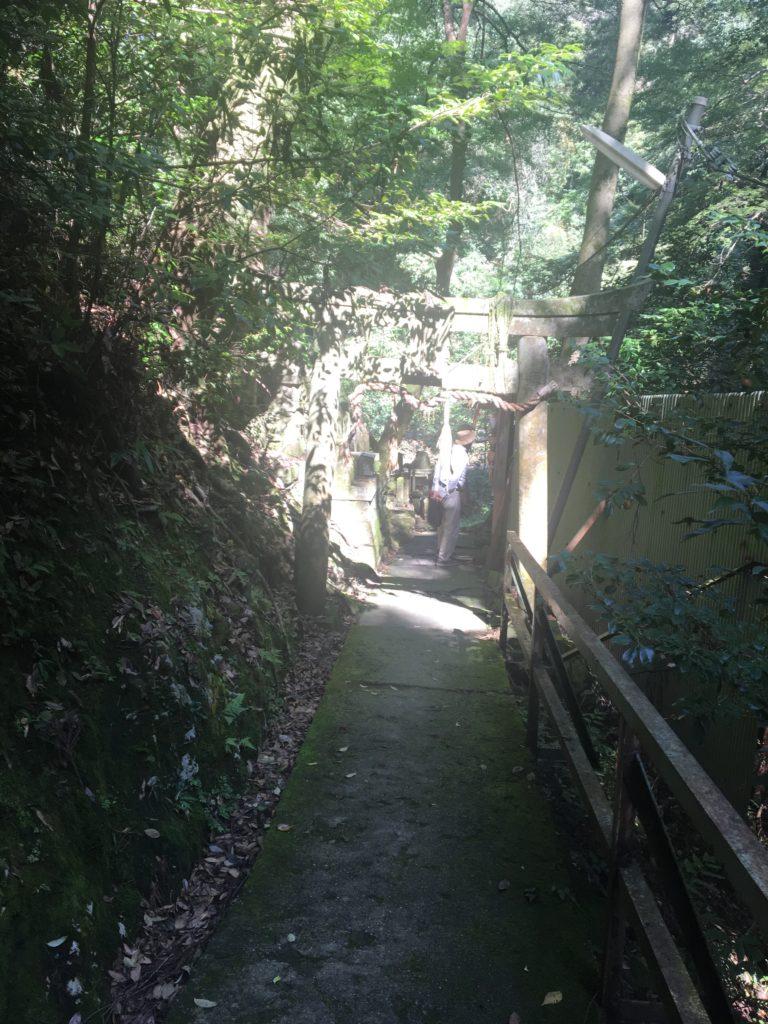 清瀧勤番所入り口